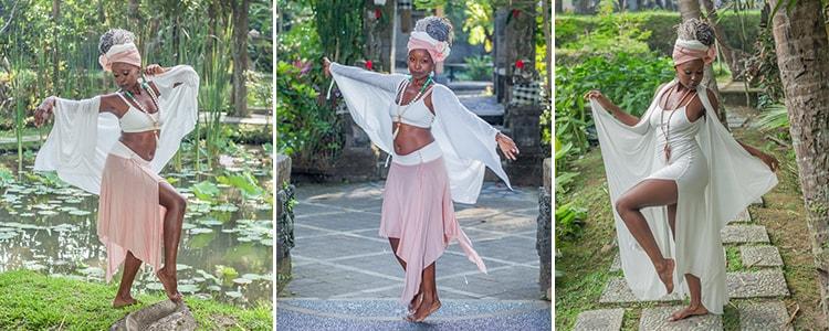Boho gypsy style feminine Bali clothing Ompure