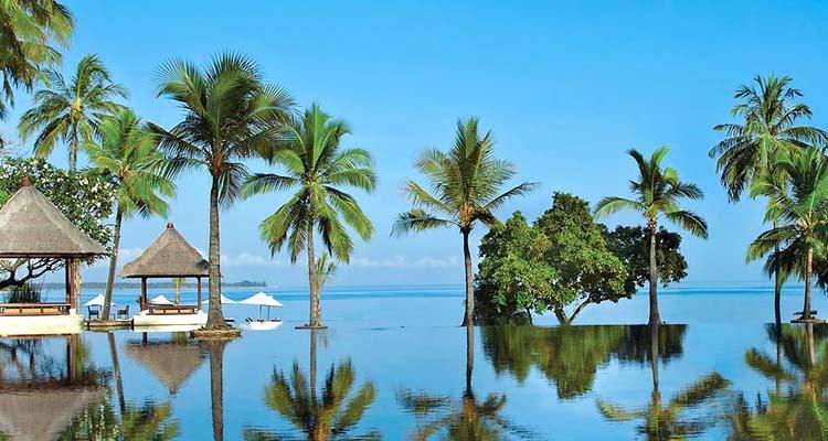 Bali retreat beach resort