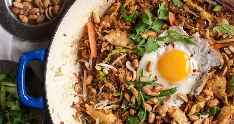 Bali retreat healthy food options