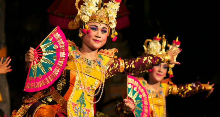 Traditional Balinese Dancers