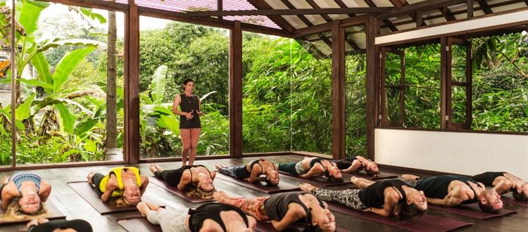 Radiantly Alive Yoga Studio in Ubud Bali