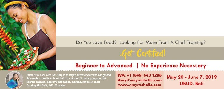 10 day raw food chef certification