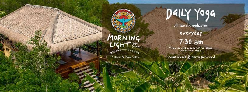 baliSpirit morning light yoga Schedule