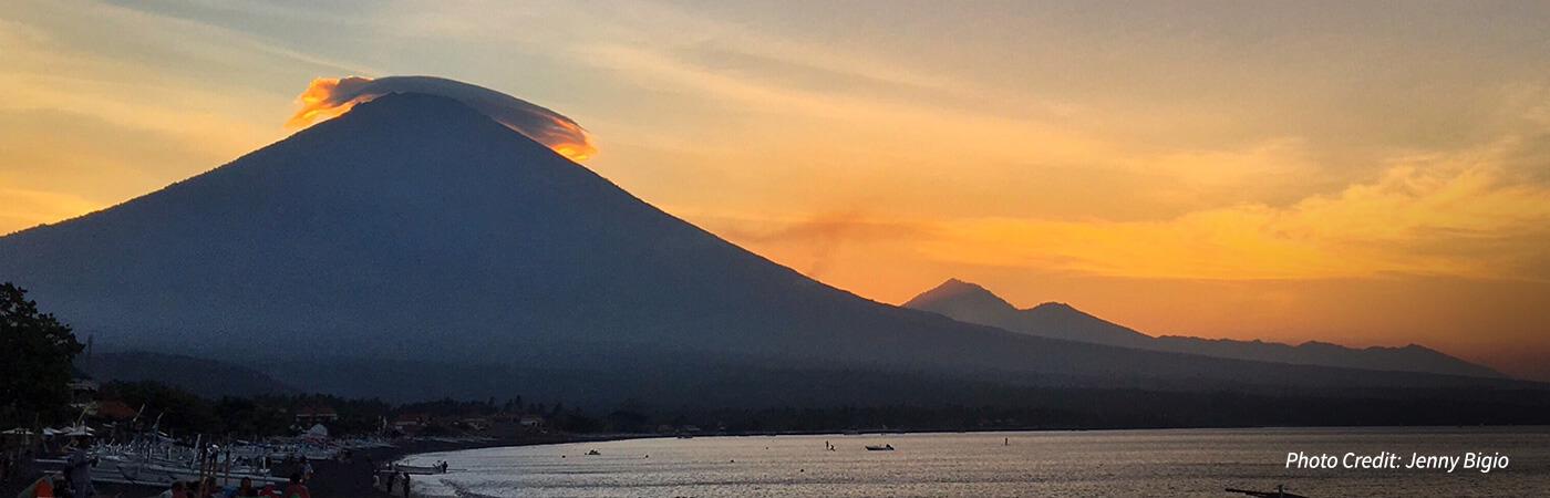 mount agung volcano updates