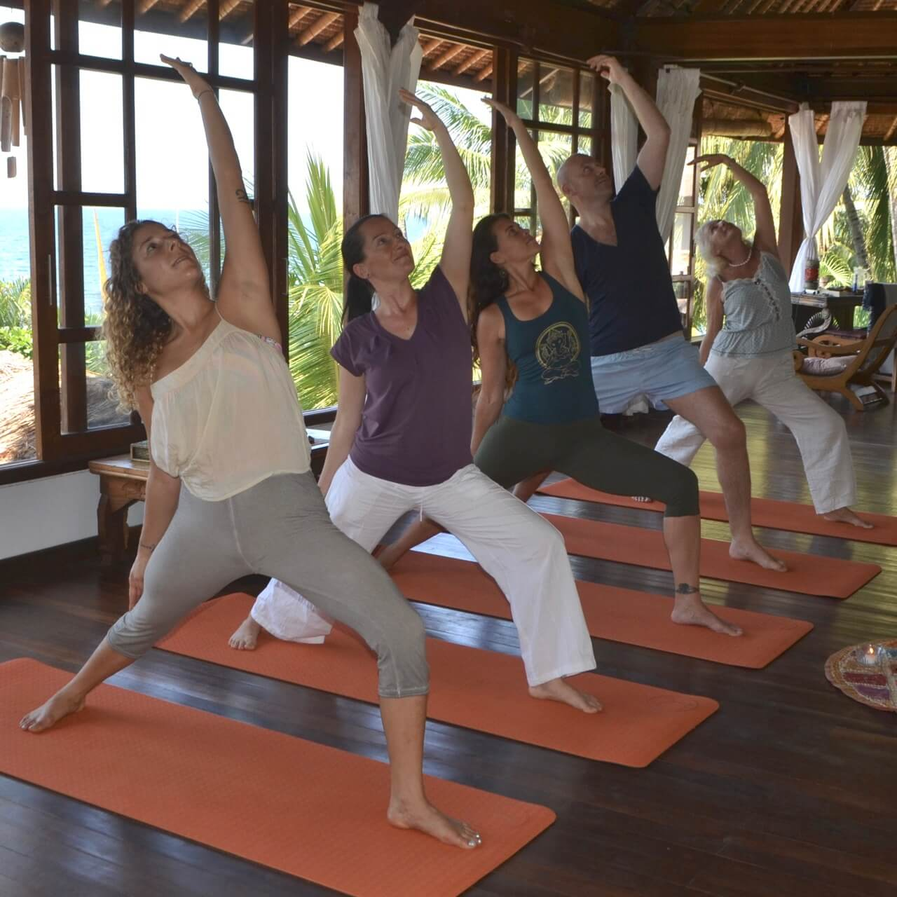 Yoga, Ayurveda or Healing Energy Retreats directly by the ocean