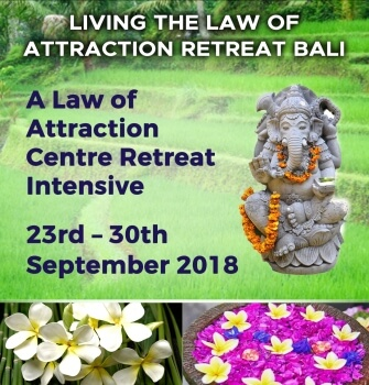 living the law of attraction retreat