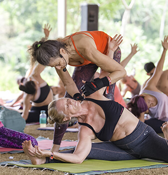 teaching at a yoga festival: 5 steps to land the gig