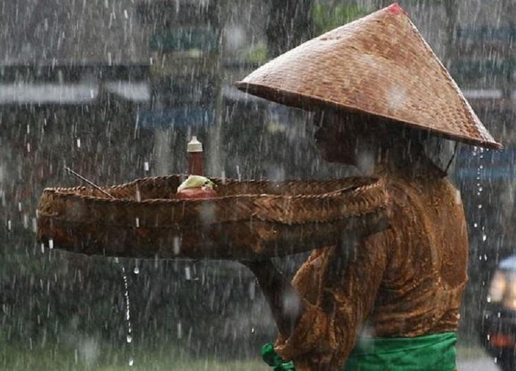 Weather in Bali - rain season