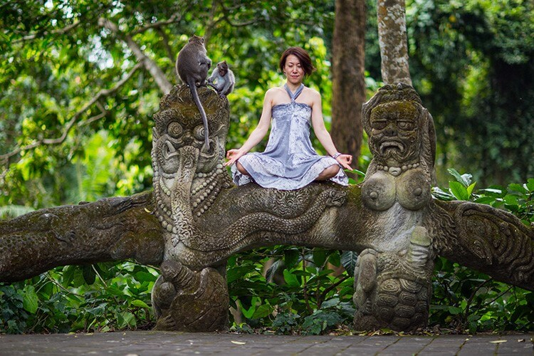 Yoga Teacher Training in Bali nature