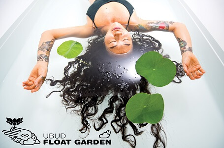 ubud float garden