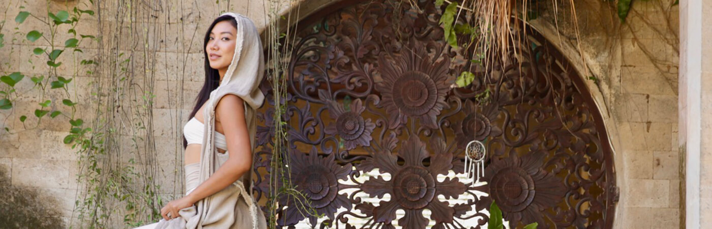 DISCOVER OMPURE, BEAUTIFUL CONSCIOUS CLOTHING IN BALI
