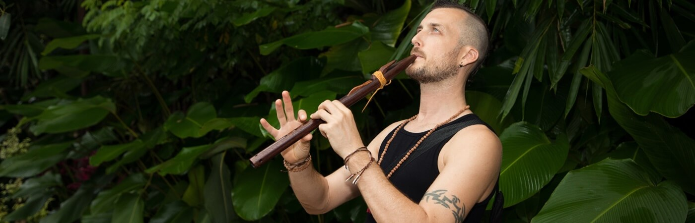 healing in bali - meet shamanic astrologer levi banner