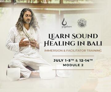 learn sound healing in bali
