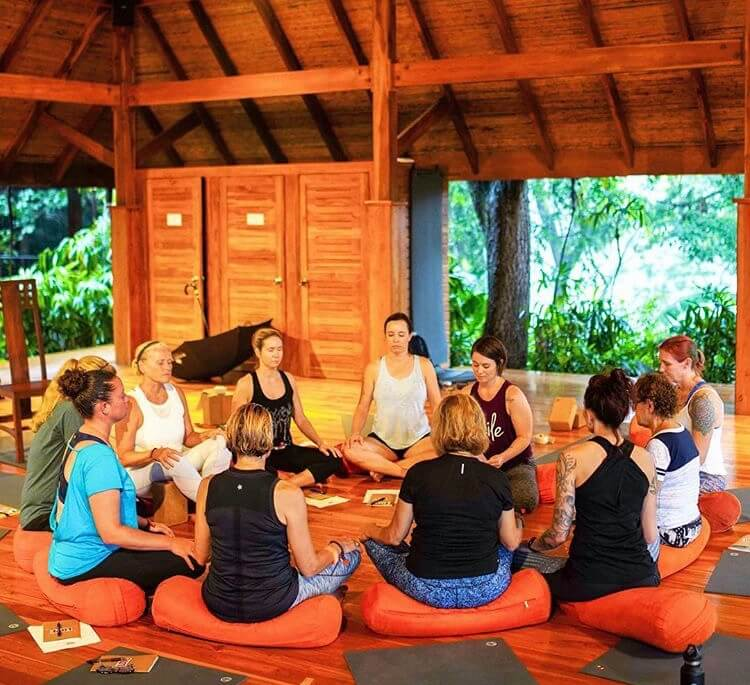 livin in flow yoga and mindfulness retreat