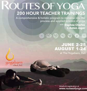 routes of yoga 200hr yoga teacher training august intake