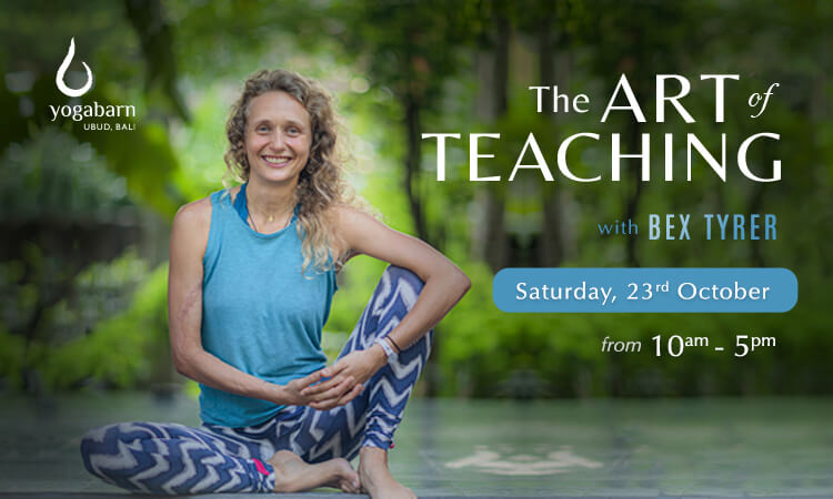 the art of teaching  with bex tyrer