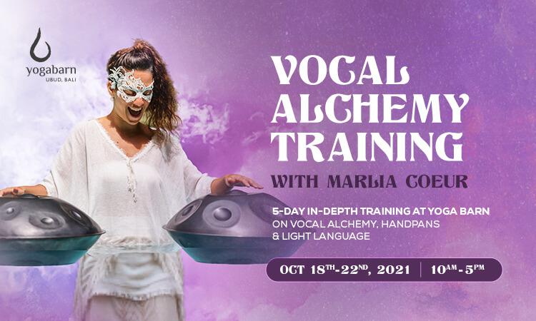 vocal alchemy + handpan + light language training with marlia coeur