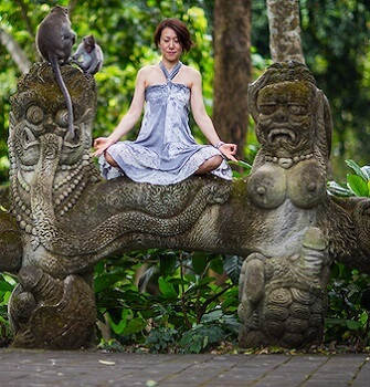 discover yoga in ubud
